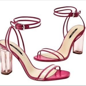 Zara Pink Clea Sandals